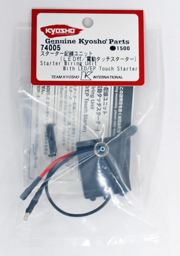 Kyosho 74005 Starter wiring unit (with LED / electric touch starter)