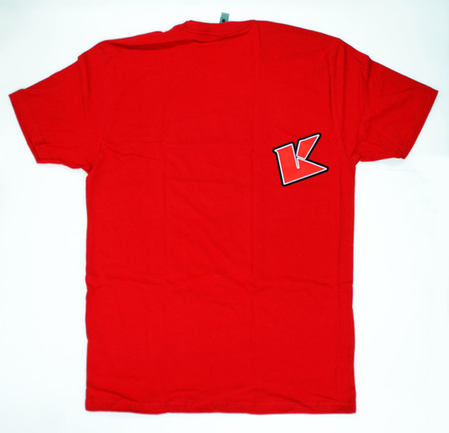 Kyosho 88002L KYOSHO K Fade 2.0 T-Shirt(Red/L)