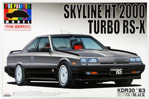 Aoshima 43783 Nissan Skyline KDR30 Silver 1/24 Scale Kit (Pre-painted Model)
