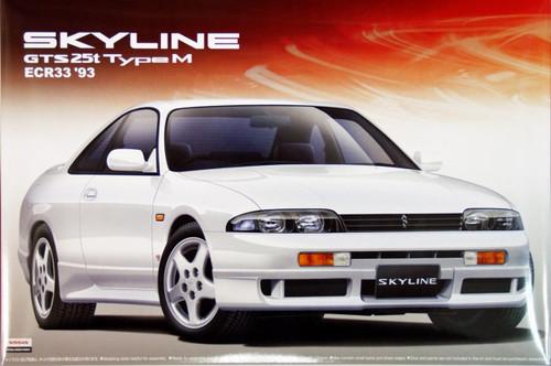 Aoshima 00045 Nissan Skyline GTS 25t Type M (ECR33) 1/24 Scale Kit