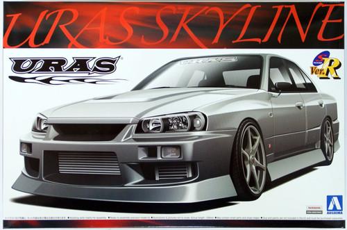 Aoshima 00205 URAS Nissan Skyline ER34 1/24 Scale Kit