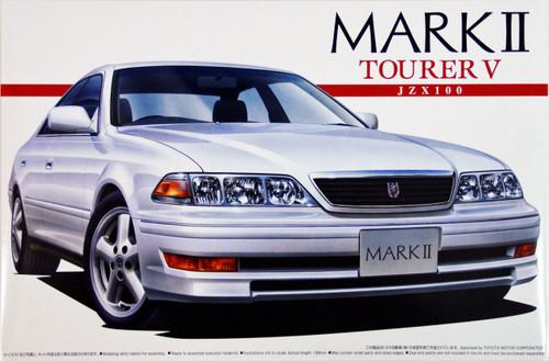 Aoshima 01608 Toyota Mark II Tourer V (JZX100) 1/24 Scale Kit