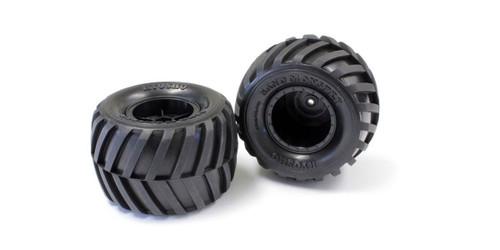 Kyosho EZT001 Tire & Wheel Set (Monster Tracker)