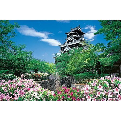 Epoch Jigsaw Puzzle 10-662 Japanese Scenery Kumamoto Castle Japan (1000 Pieces)