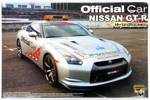 Aoshima 44995 Nissan GT-R R35 Official Car 1/24 Scale Kit