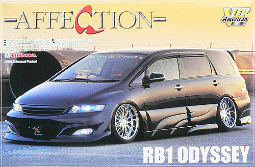 Aoshima 47651 Honda Odyssey (RB1) Affection 1/24 Scale Kit
