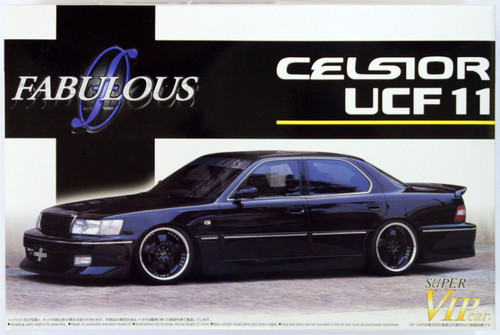 Aoshima 49464 Toyota Celsior (UCF11) Fabulous 1/24 Scale Kit