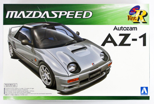 Aoshima 49846 Autozam AZ-1 Mazdaspeed Version 1/24 scale kit