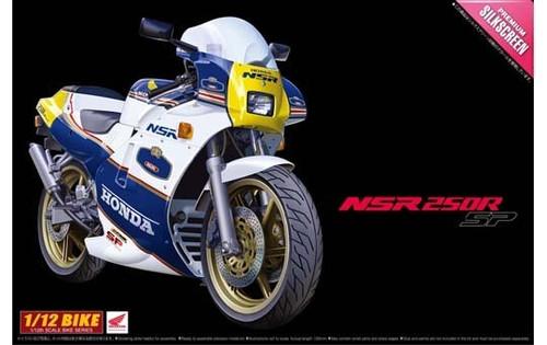 Aoshima Naked Bike 100 50040 Honda NSR 250R SP 1988 1/12 Scale Kit (NSR250R)