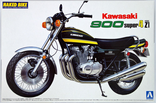 Aoshima 40980 Bike 12 Kawasaki 900 Super 4 Z1 1/12 Scale Kit