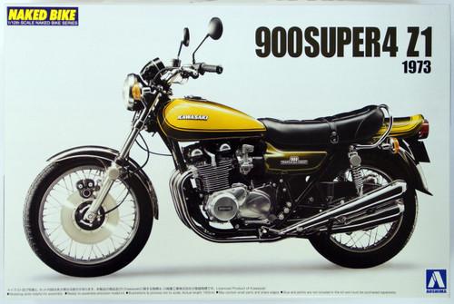 Aoshima Naked Bike 63 44421 Kawasaki 900 Super4 Z1 1/12 Scale Kit