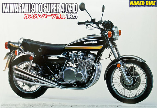 Aoshima Naked Bike 82 50187 Kawasaki 900 Super 4 Z1 1/12 Scale Kit