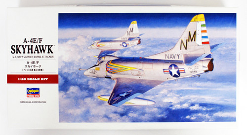 Hasegawa PT21 A-4E/F Skyhawk US Navy Carrier Borne Attacker 1/48 scale kit