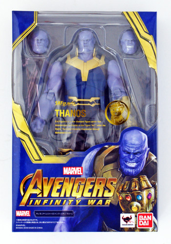 Bandai S.H. Figuarts Thanos Figure (Avengers: Infinity War)