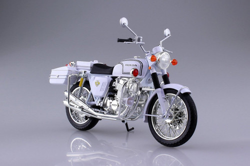 Aoshima Skynet 104651 Honda CB750FOUR (K0) Police motorcycle 1/12 Finished Model