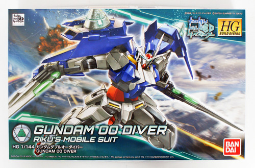Bandai HG Gundam Build Divers 000 Gundam OO Diver 1/144 Scale Kit