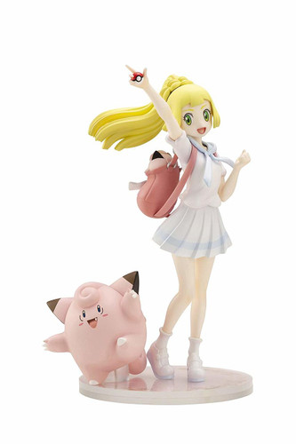 Pokemon Center Original Lillie & Pippi (Clefairy) 1/8 Scale Figure