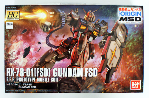 Bandai Gundam The Origin 021 Gundam FSD 1/144 Scale Kit