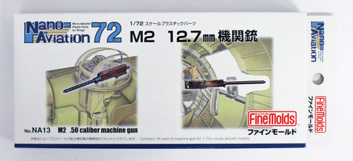 Fine Molds NA13 M2 12.7mm Caliber Machine Gun 1/72 scale kit