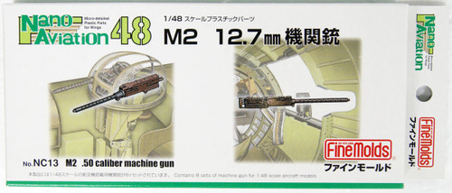 Fine Molds NC13 M2 12.7mm Caliber Machine Gun 1/48 scale kit