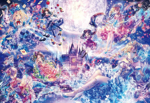 Epoch Jigsaw Puzzle 28-314 Art Onineko Princess Story (300 Pieces)