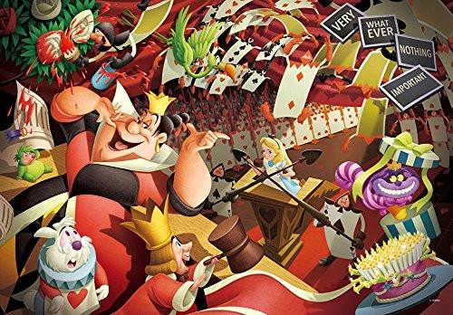 Tenyo Japan Jigsaw Puzzle DPG-500-216 Alice in Wonderland (500 S-Pieces)
