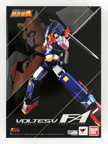 Bandai Soul of Chogokin GX-79 Choudenji Machine Voltes V F.A. Figure