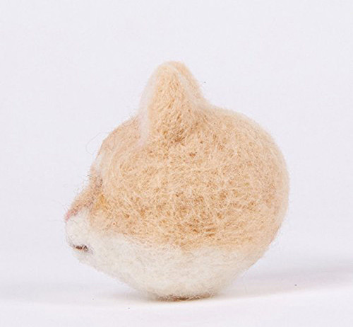 Needlecrafts & Yarn Hamanaka H441-469 Felt Wool Mascot Realistic Animals Brown Tabby Cat Kit Japan. Other Needlecraft Supplies