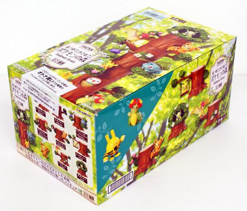 Re-ment 203867 Pokemon Forest 8 Figure Complete Set