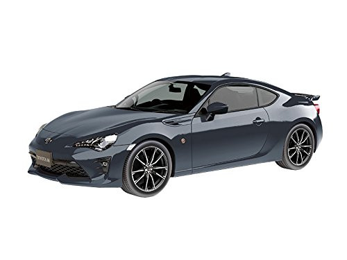 Aoshima 55977 Toyota 86 Dark Grey Metallic 1/32 pre-painted kit