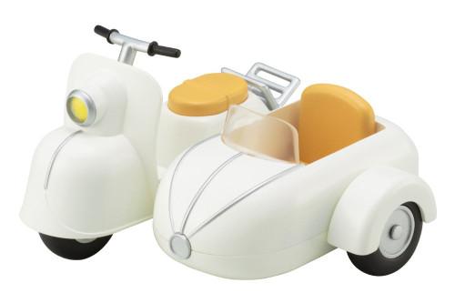 Kotobukiya ADE56 Cu-poche Extra Bike & Sidecar (Milk White)