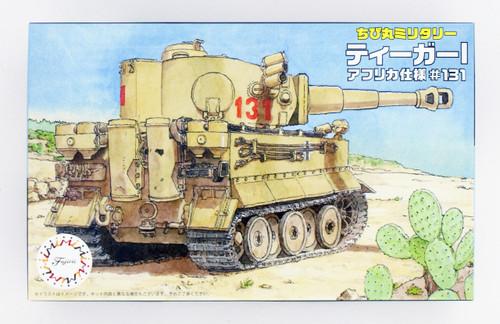Fujimi TM8 Chibi-maru Military Tiger I (Africa Version #131) Non-scale kit