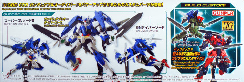 Bandai HG Build Custom 036 Diver Ace Unit 1/144 Scale Kit