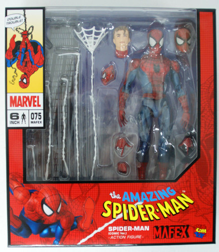 Medicom MAFEX 075 Spider-man Comic Ver. Action Figure