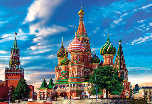 Beverly Jigsaw Puzzle 33-151 Saint Basil's Cathedral (300 Pieces)