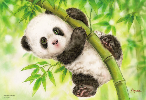Beverly Jigsaw Puzzle 33-152 Cute Animals Panda (300 Pieces)