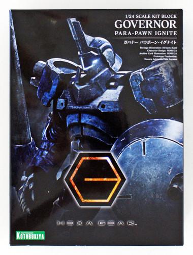 Kotobukiya HG018 Hexa Gear Governor Para-Pawn Ignite 1/24 Scale Kit