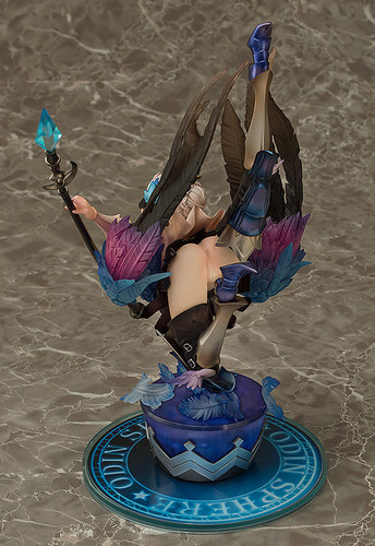 Aquamarine Gwendolyn: Winged Maiden Warrior (Valkyrie) 1/8 Figure (Odin Sphere Leifthrasir)