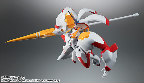 Bandai Robot Tamashii Darling in the Franxx Strelizia Figure