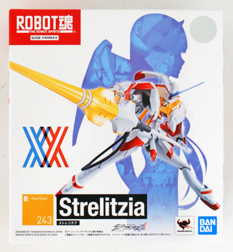 Bandai Robot Tamashii Darling in the Franxx Strelizia Figure