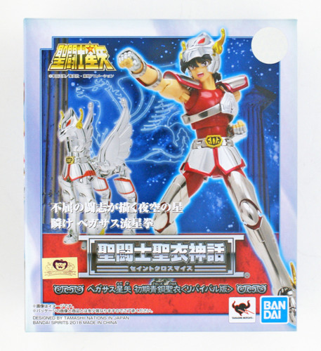 Bandai Saint Seiya Myth Cloth Pegasus Seiya (Bronze Cloth) Revival Version Figure