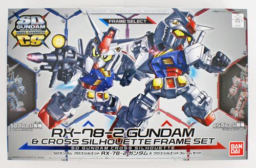 Bandai SD Gundam Cross Silhouette RX-78-2 Gundam & Cross Silhouette Frame Set