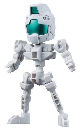 Bandai SD Gundam Cross Silhouette Cross Silhouette Frame (White)