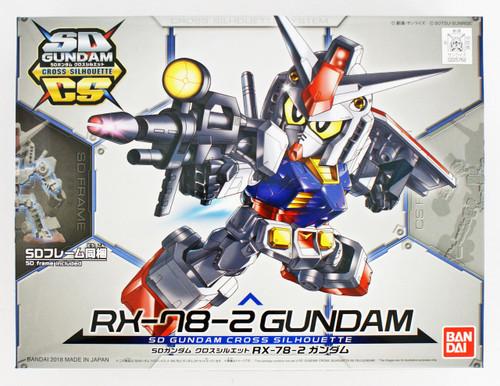 Bandai SD Gundam Cross Silhouette RX-78-2 Gundam Non-Scale Model Kit