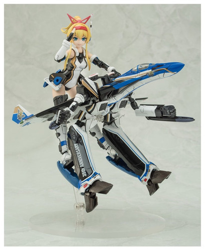 Aoshima 56165 ACKS MC-02 VFG Macross Delta VF-31J Siegfried 35th Anniversary Non-scale kit