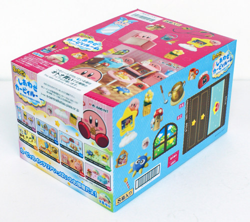 Re-ment 204055 Happy Kirby Room 1 Box 8 Figures complete Set