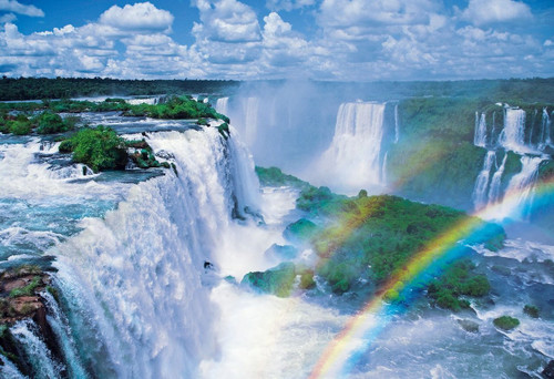 Epoch Jigsaw Puzzle 31-006 Iguazu Falls Argentina/Brazil (1053 S-Pieces)