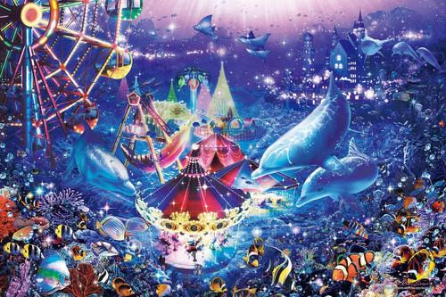 Epoch Jigsaw Puzzle 23-715 Lassen Dolphins in Wonderland (2016 S-Pieces)