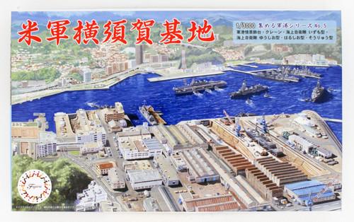 Fujimi Gunko 05 401485 US Army Yokosuka Naval Base 1/3000 scale kit