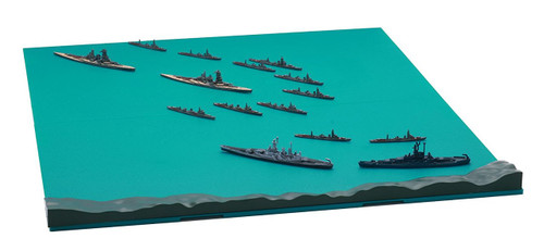 Fujimi Gunkan 12 The 3rd Battle of the Solomon Sea Set 1/3000 scale kit